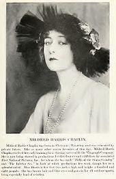 Mildred Harris c. 1920.