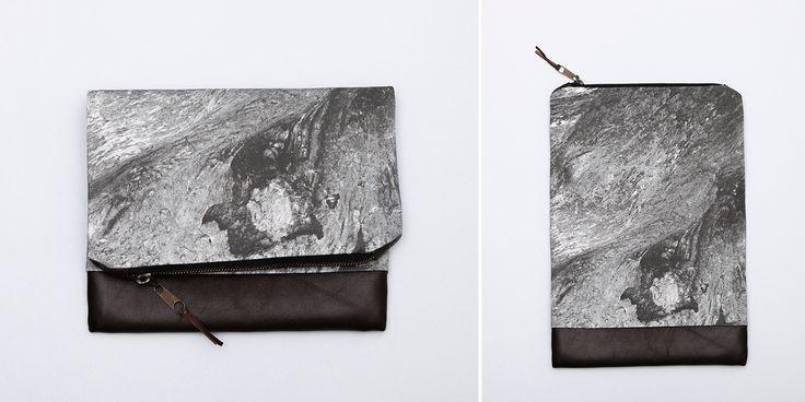 LAVA fold-over clutch