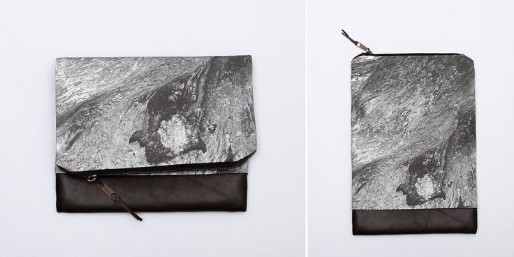 LAVA fold-over clutch