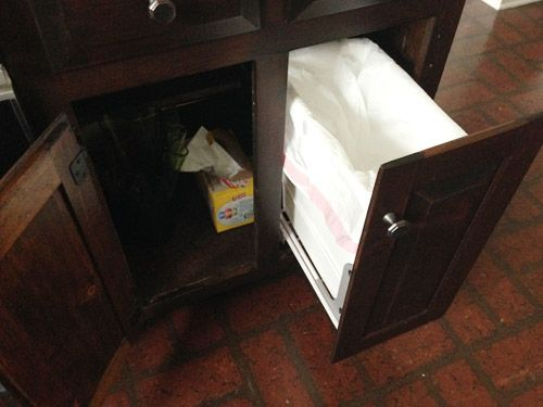 13 Best Trash Disposal Bins Cabinets Images On Pinterest
