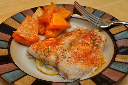 Baked Red Snapper With Herbed Butter Healthy And So