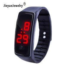 Barato das Mulheres Relógios Senhoras Relógio de Borracha LEVOU Data Mulheres Esportes Pulseira de Silicone Digital relógio de Pulso Ladies Watch Relógio Reloj Mujer(China (Mainland))