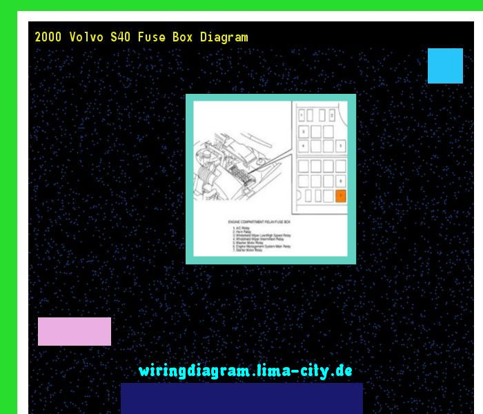 2000 Volvo S40 Fuse Box Diagram  Wiring Diagram 175755