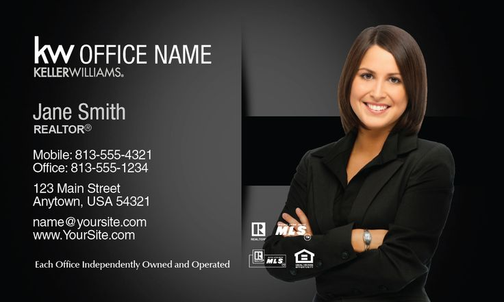 83 best keller williams business cards images on pinterest fancy keller williams business card realtor colourmoves