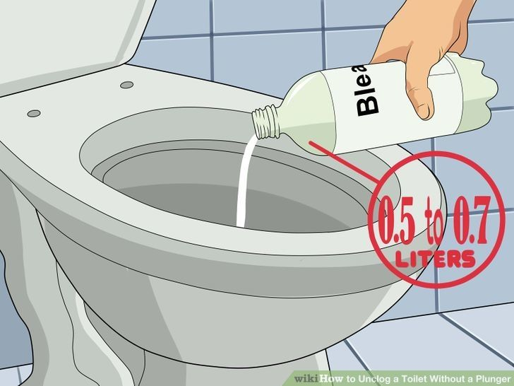 Unclog a Toilet Without a Plunger How to unclog toilet