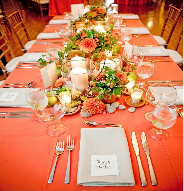 Coral Wedding Reception Ideas: Teal & Coral On Pinterest