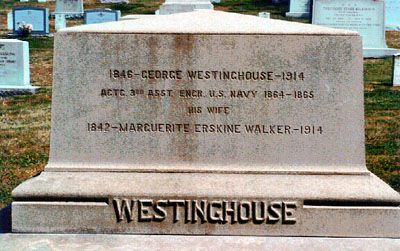 George Westinghouse - Businessman, Inventor. He is best known as the inventor of the Westinghouse railway air brake and founder of the Westinghouse Electric Company.