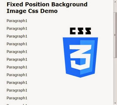 Fixed Position #Background #Image #Css Demo http://www.webknowledgefree.com/2015/05/fixed-position-background-image-css.html