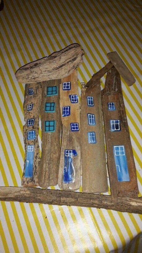Drivtømmer huse