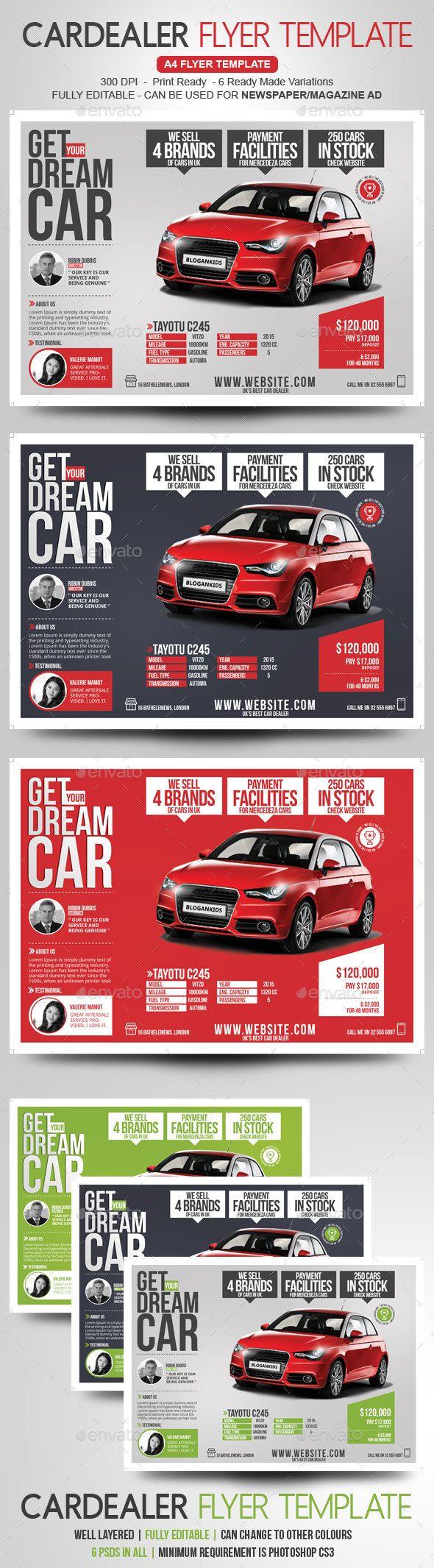 car ad template