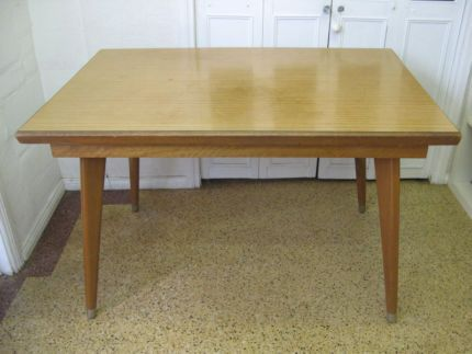 $60 Vintage RETRO DINING TABLE Timber EXPANDABLE 122x77cm Text 0411691171 or email info@bitspencer.com