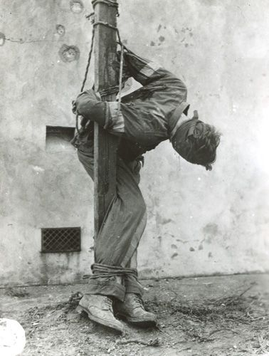 Nazi spy executed by firing squad