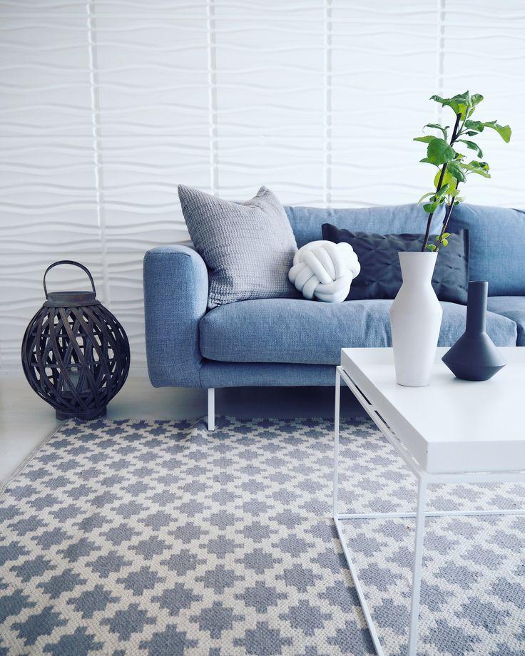 Kuusilinnan Pilvi-sohva suunnittelijan Sonjan @kodissa