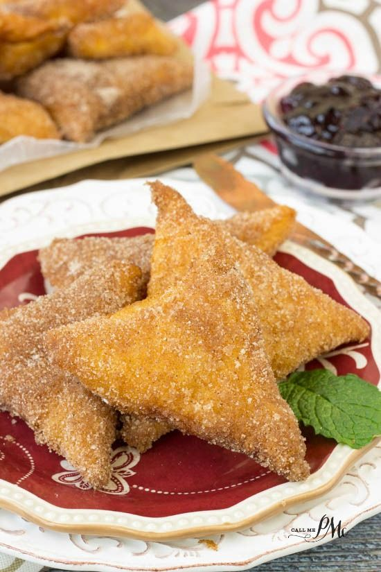 Crescent Roll Beignets an easy 3 ingredient homemade recipe
