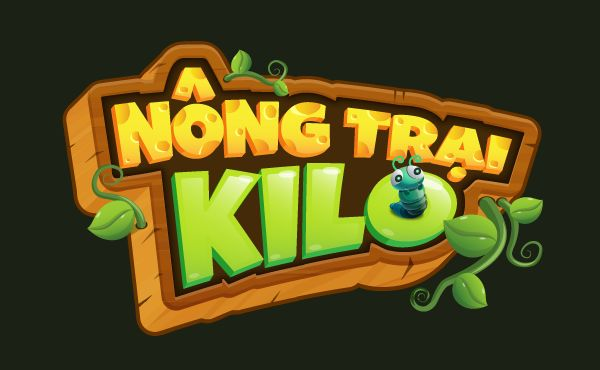 kiLo Farm game - graphic for old gameplay on Behance