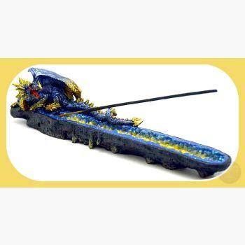 """Magickal Blue"" Dragon Ash Catcher/ Holder"