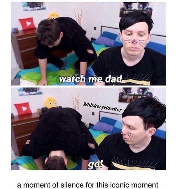 I love Dan calling Phil dad