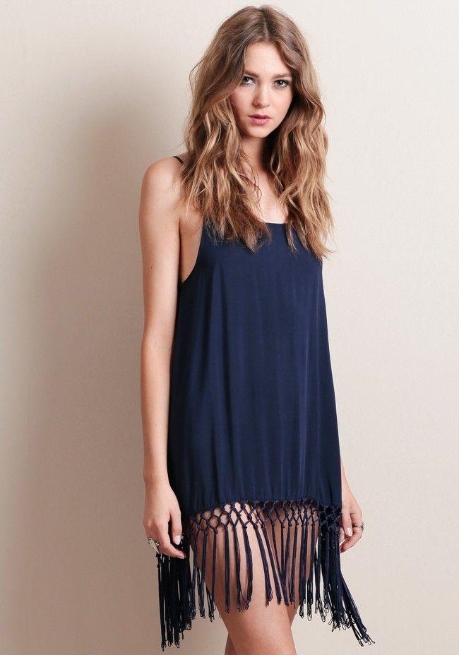 Speakeasy Fringe Dress