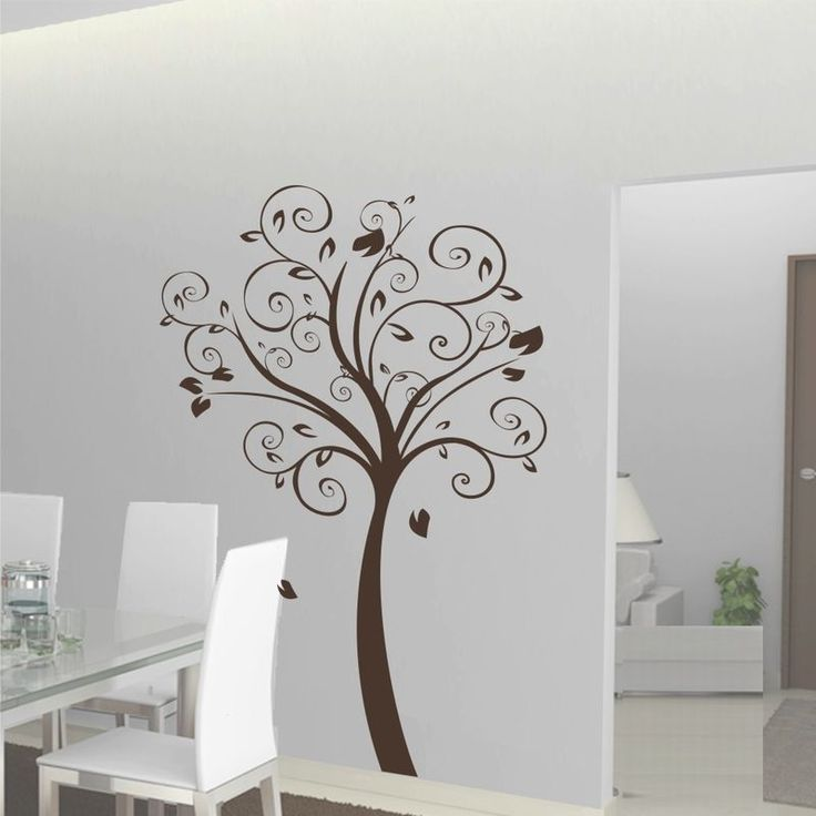 How about bringing a little nature into your room?? #desgin #homedecor #homedecal #furnishturf