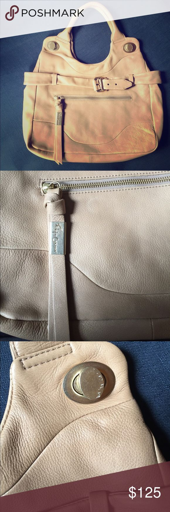 Foley + Corinna Tote Jet Set Tote is a tan / beige color and ingreat condition minus a few small scratches on the handle (as shown in pictures). Foley + Corinna Bags Totes