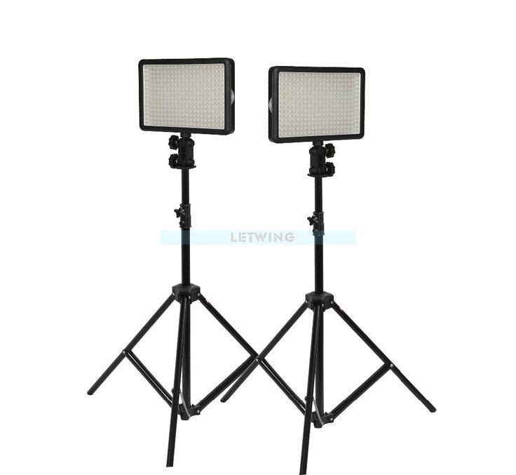 LED Light kit Stand With Change Lighting Studio Video Light Kit