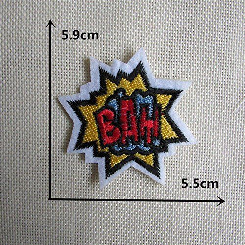 FairyTeller 1Pcs Sell High Quality Mixture Sell Patch Hot Melt Adhesive Applique Embroidery Patch Diy Clothing Accessory Patch C413-C431 *** To view further for this item, visit the image link.