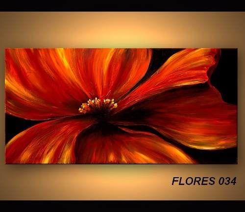 Cuadros Modernos Abstractos - Flores - Etnicos - Musicales - $ 990,00