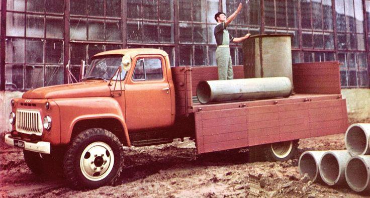 16 ГАЗ-53А из Автоэкспорта 1967г