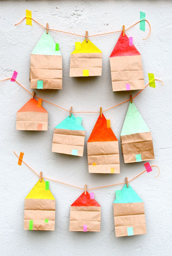 Paper Bag Party Ideas | Oh Happy Day!