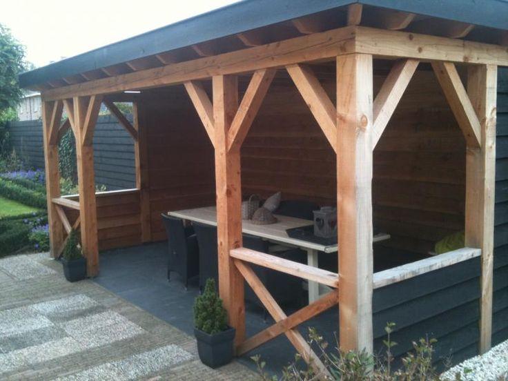 Alles is mogelijk met een houten veranda | Willemsen Hout uit Opheusden