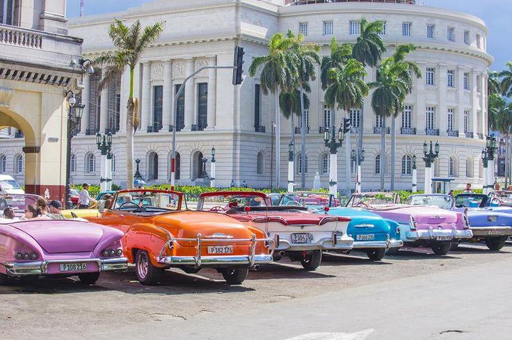 CUBA: Pick your ride in Havana.