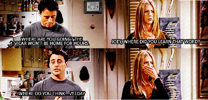 "omg this is one of my favorite F.R.I.E.N.D.S. moments of ALL time! haha when joey finds rachel's romance novel ""porn"" and reads it!: Friends Best, Friends Tv, Friends Rachel, Adult Book, Friendss 3, Tv Music Movies Book, Rachel Book, Friends 3"