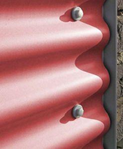 Corrugated metal sheet facade cladding - SOLANO® - ARCELORMITTAL