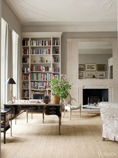 (via Pinterest) love the pale colours and the sisal