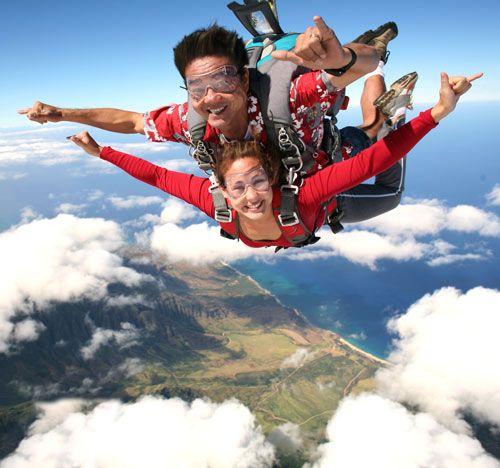 Skydive in Hawaii - Oahu Skydiving - Honolulu Skydiving - Pacific Skydiving Hawaii