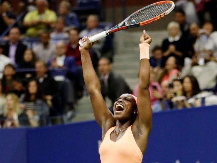 Sloane Stephens, World No.83 becomes the 14th unseeded player to advance to a Major final in the Open era and only the fourth at the US Open.  via https://www.theguardian.com/sport/live/2017/sep/07/us-open-womens-semi-final-venus-williams-sloane-stephens-live 9/7/17