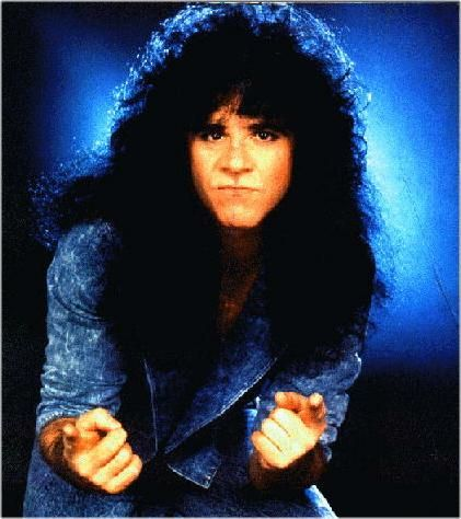 """Eric Carr (1950 - 1991)Rock Musician. Born Paul Charles Caravello in Brooklyn, New York City, New York, he replaced founding member Peter Criss in the rock band """"KISS"""" in 1980, and played drum with the band until his death in 1991."""