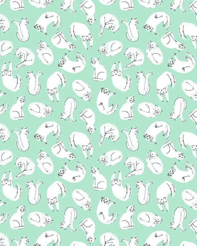cat Pattern Design - Esther Lara