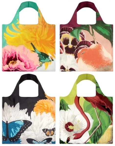 LOQI Reusable Bag Botany Collection - hardtofind.