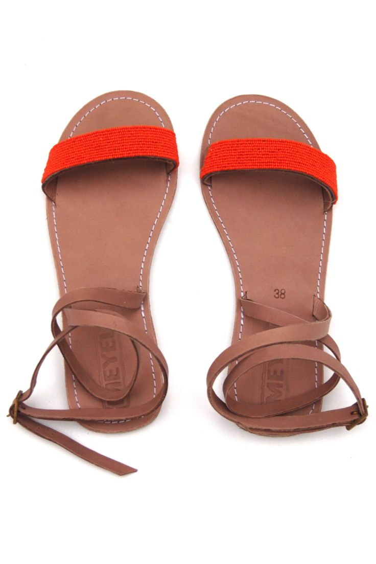 Mosi Sandal - Orange