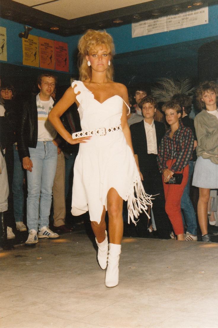 Belinda in White leather