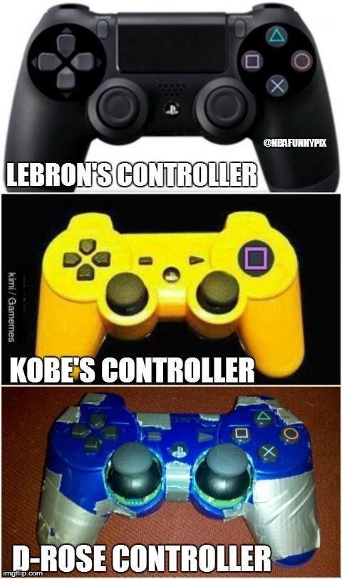 LMFAO Kobe and Drose - http://weheartokcthunder.com/nba-funny-meme/lmfao-kobe-and-drose: