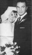 Judy Carne and Burt Reynolds