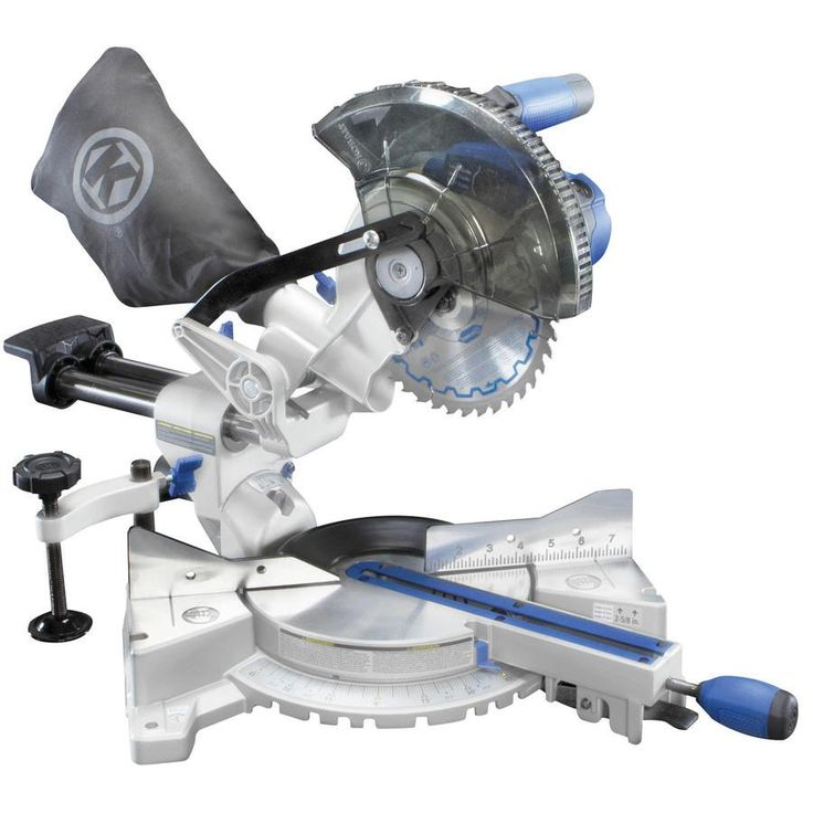 kobalt bevel sliding laser compound miter saw at lowes ideal for moulding and framing cuts this kobalt sliding compound miter saw delivers of power