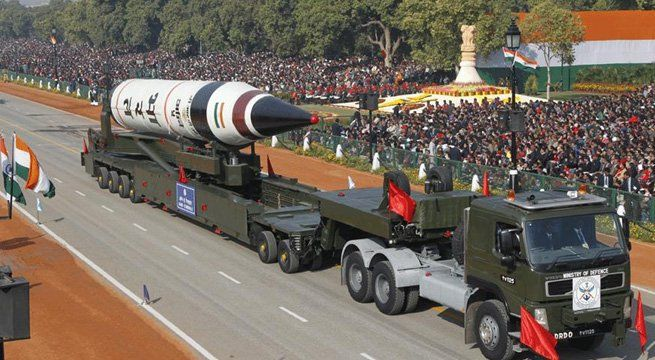 New Delhi: According to the annual report of Stockholm International Peace Research Institute (SIPRI), India is believed to have added nearly 10 more nuclear warheads to its arsenal, which was estimated at 110-120 in 2016. The current status of India's air-based nuclear weapons is unclear....