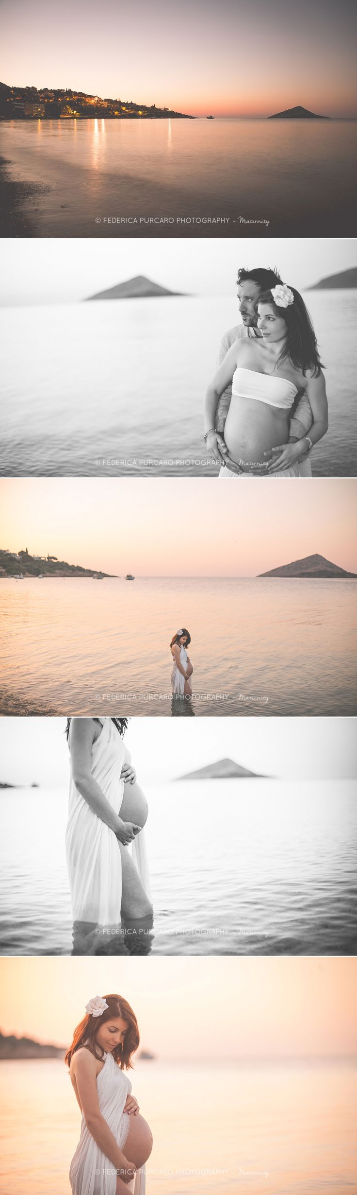 Eva & Aris - Gravidanza ad Atene - Fotografo Maternità - Federica Purcaro Photography