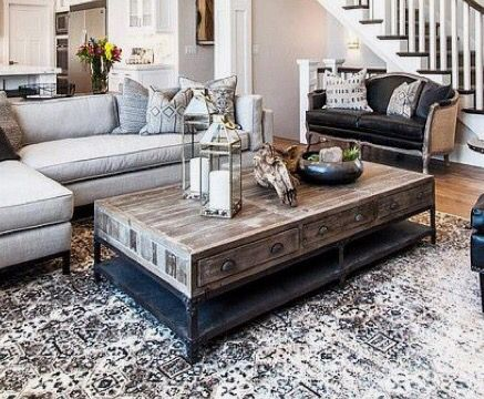 Love this coffee table!! Perfect mix or coastal & industrial! ❤️