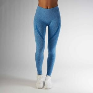 Gymshark High Waisted Seamless Legging - Blueberry Marl