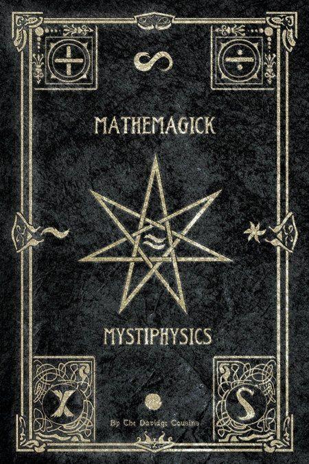 Mystic MetaPhysics book cover @Melba Ellis Natalia Asi de místico como tu