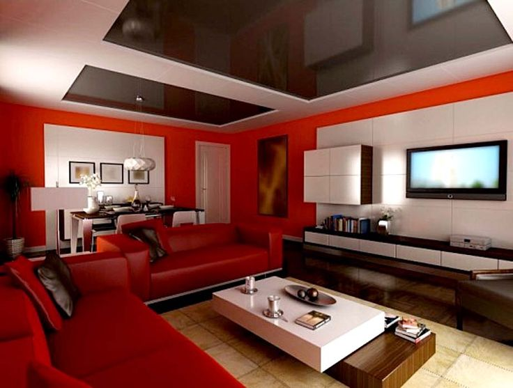 Living RoomRed Room Furniture Decorating Ideas Also Floating Tv On Wall Then Hardwood Floor With Coffee Table Pure Countertops Plus